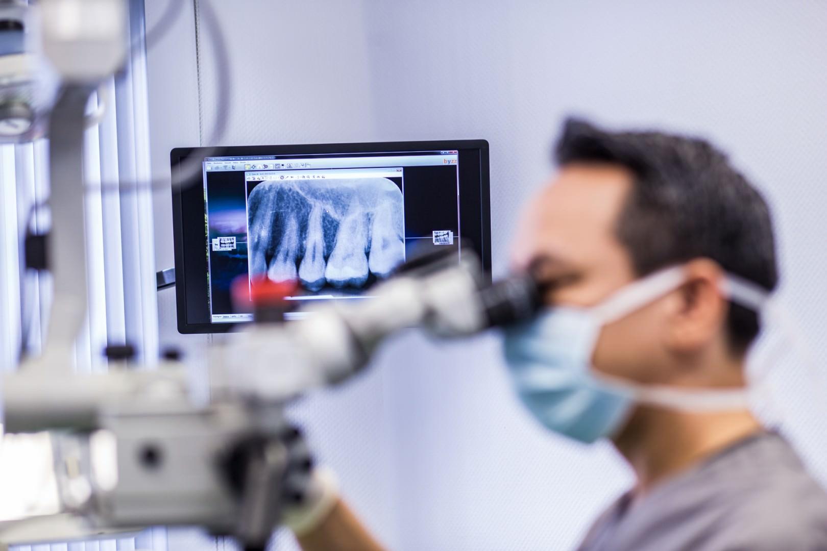 Endodontie: Der Stift-Aufbau