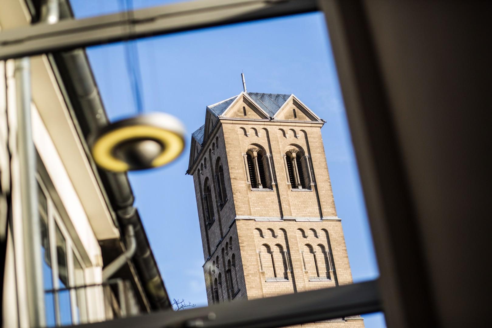 Blick auf den Turm der Gereonskirche