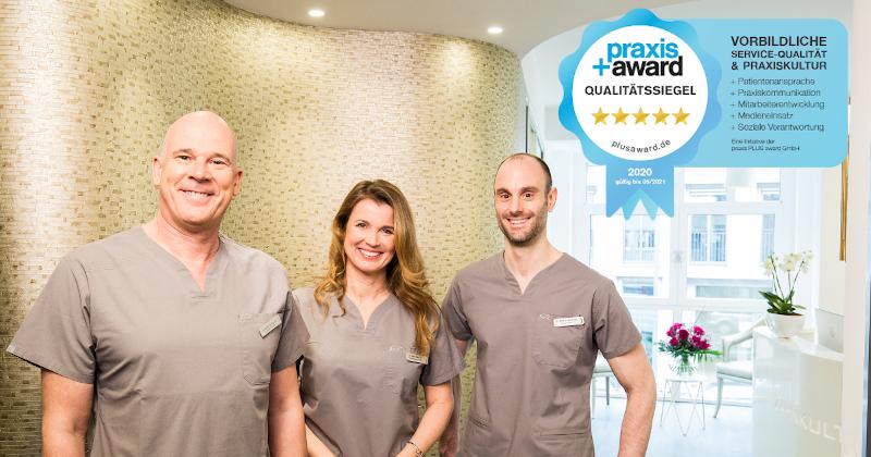 Auszeichnung Praxis+Award 2020 für herausragenden Patientenservice