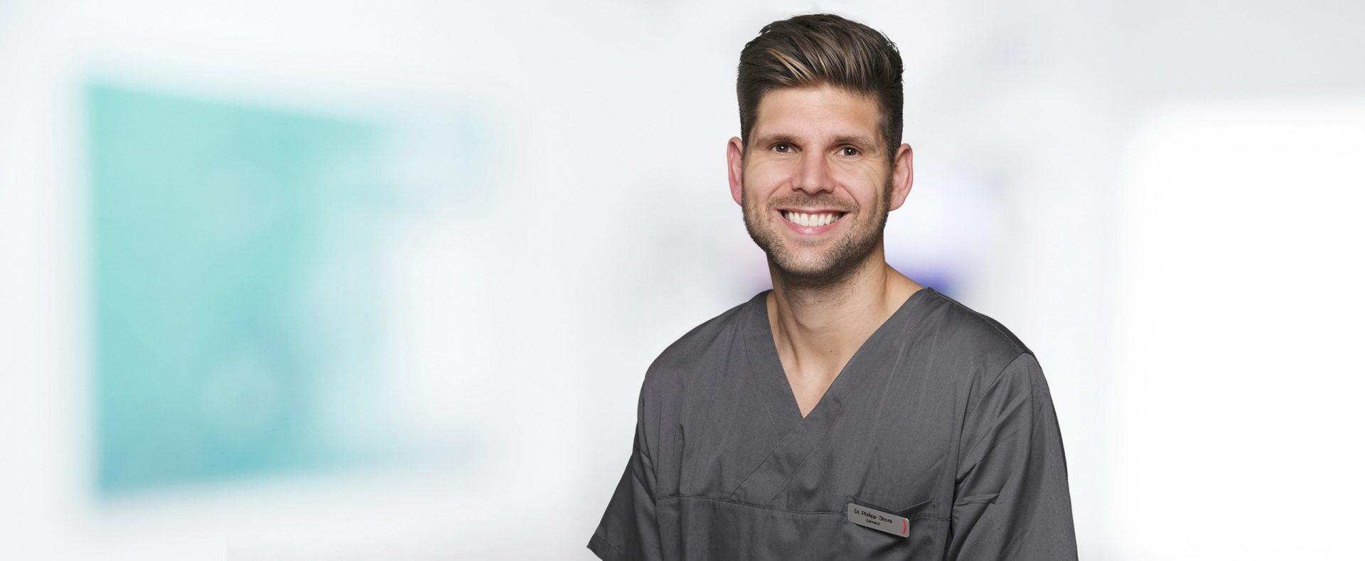 Dr. Philipp Skora ist Zahnarzt für Parodontologie und Implantologie bei der Zahnarztpraxis ZAHNKULTUR) in Köln